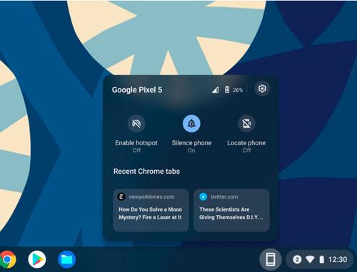 Novedades Chrome OS